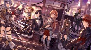 Anime-Sword-Art-Online-Gun-Gale-Online-Kirito-788423