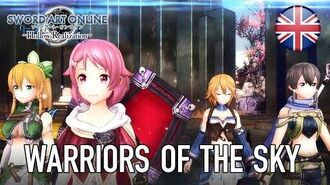 Sword Art Online Hollow Realization - Warriors of the Sky Trailer