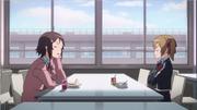 An irretated Rika and a mad Keiko