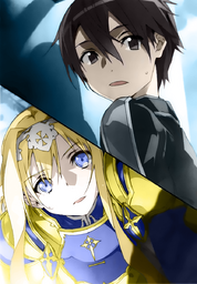 Sword Art Online Vol 13 - 041 colorized
