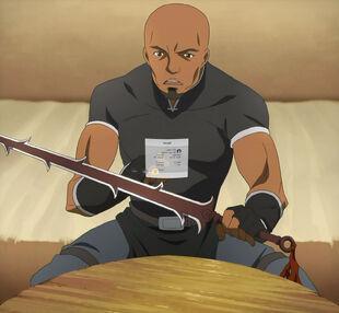Chan.sankakucomplex.com - 1740781 - sword art online screen capture 1boy andrew gilbert mills bald checking dark skinned discovering