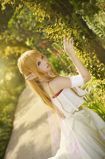 Sword art online asuna blossoming faith by thebakasaru-d5qxkkh