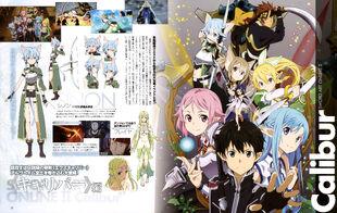 Yande.re - 302357 - sword art online ~ asuna (sword art online)+kirito+klein (sword art online)+leafa+lisbeth+silica+sinon
