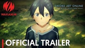 Sword Art Online -Alicization- Official Trailer English Subs