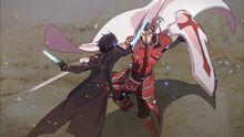 HeathCliff vs Kirito