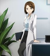 Chan.sankakucomplex.com - 3532845 - a-1 pictures brown eyes brown hair high resolution labcoat pantyhose screen capture short hair sword art online