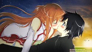 Sword art online kiss by hallow1791-d5k12ht