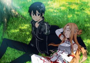 E-shuushuu.net 2014-05-13-649093 - Sword Art Online ~ Kirigaya Kazuto, Yuuki Asuna