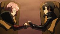 Kirito i Lisbeth