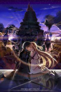 Kirito love asuna sword art online by strikeangel-d5kr11z