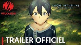 Sword Art Online -Alicization- Trailer officiel VOSTFR