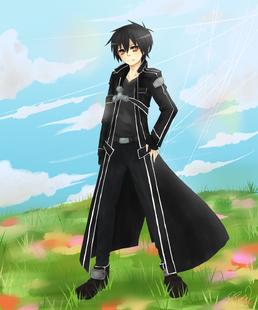 Sword art online kirito by kirakirapyon-d64i34l