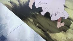 Asuna s'échappe.