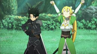 Sword Art Online: одень персонажей