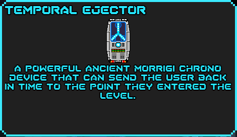 Temporal ejector