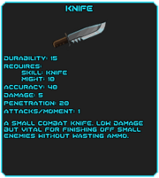 Knife tag