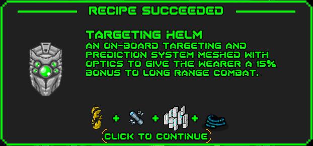 Targeting helm-recipe