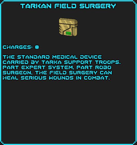 Tarkan Field Surgery