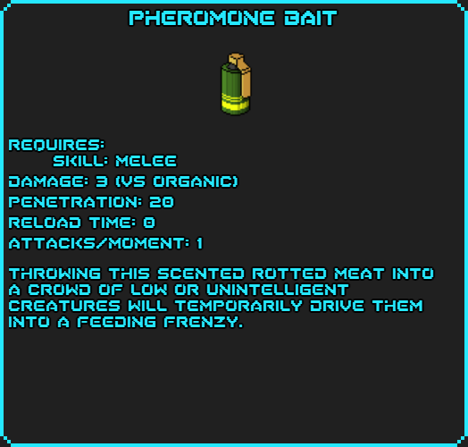 Pheromone Bait info