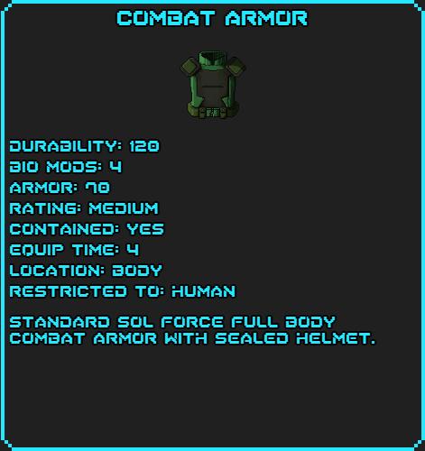 Combat armor-gold