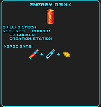 Enegry Drink