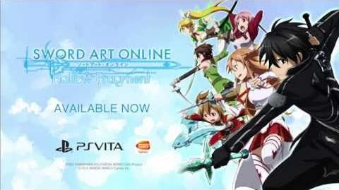 Sword Art Online Hollow Fragment - Launch Trailer