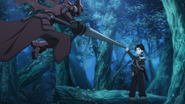 Kirito using Guard BD