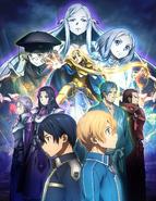 Alicization Anime Key Visual 3