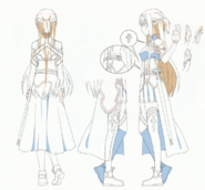 OS Production Book SAO Asuna Design