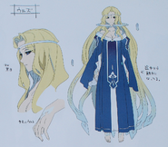 Second Season Animation Art Book Urd concept