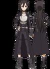 Kirito avatar em GGO