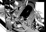 Kirito rescuing Asuna from a pack of kobolds - Progressive manga c1