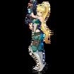 Leafa Fatal Bullet character design