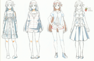 OS Production Book Yuuki Asuna Design Art 3