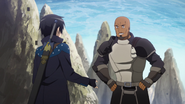 Agil and Kirito in episode 5