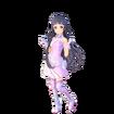 Yui Fatal Bullet character design