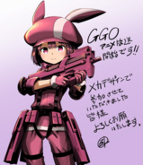 Ishiguti Juu's LLENN illustration for AGGO episode 1