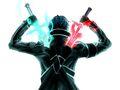 Sword-art-online-kirito-swords Dragon Slayers.jpg