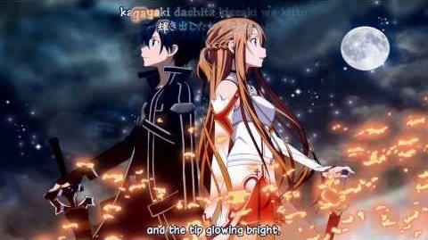 SAO Kirito Character Song Yoshitsugu Matsuoka - Sword & Soul English KaraFX-0