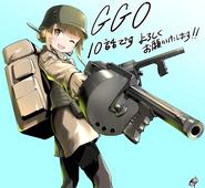 Ishiguti Juu's Fukaziroh illustration for AGGO episode 10