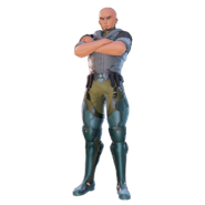 Agil Fatal Bullet character design
