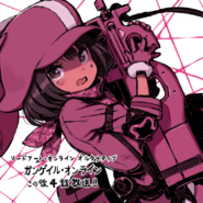 Kuroboshi Kouhaku LLENN illustration for AGGO episode 4