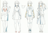 OS Production Book Yuuki Asuna Design Art 2