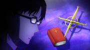 Kikuoka Seijirou informing Asuna and Rinko about the Taboo Index - S3E06