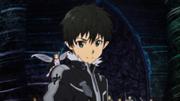 Kirito arrives to help Asuna and the Sleeping Knights