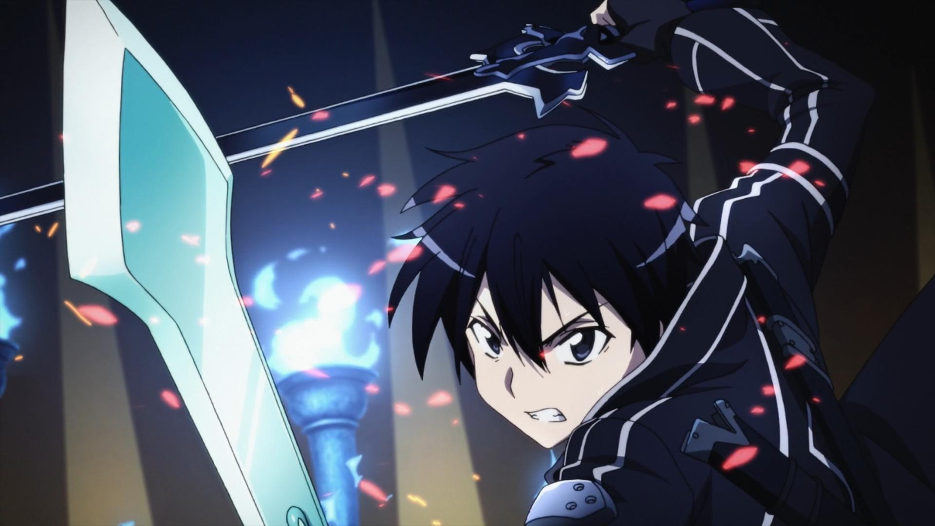 Image result for sword art online fight scene