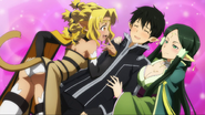 Sakuya and Alicia Rue attempting to seductively recruit Kirito MT