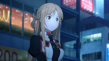 آسونا یوکی Sword Art Online