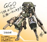 Ishiguti Juu's Robo-Fukaziroh illustration for AGGO episode 7