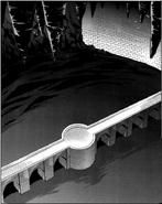 Legrue Corridor's central cave in the manga